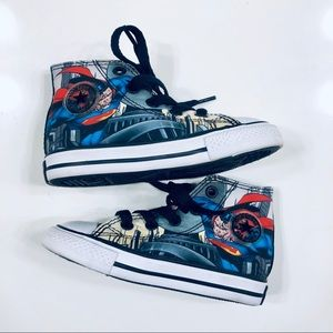 Converse Superman Toddler Shoes